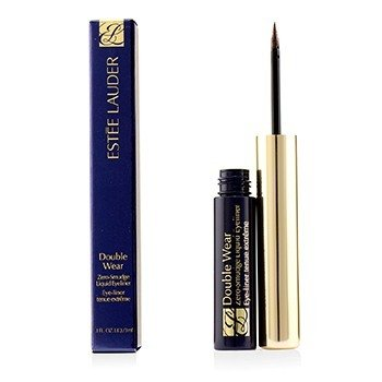 Estee Lauder Double Wear Zero Smudge Liner Mata Jenis Bendalir - #02 Brown