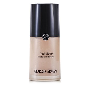 Giorgio Armani Fluid Sheer - # 7 Pale Berkilauan Rose