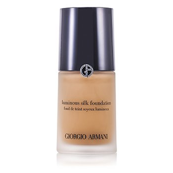 Giorgio Armani Luminous Silk Mekap Foundation Muka - # 8 Caramel