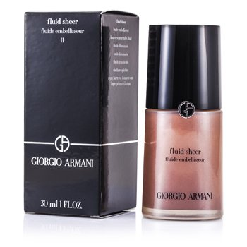 Giorgio Armani Fluid Sheer ( Alas Foundation Muka )- # 11 Amber