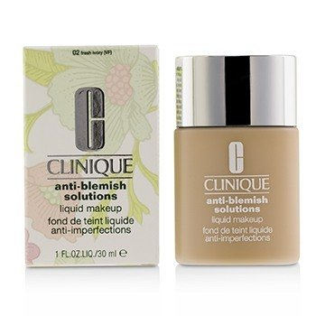 Clinique Anti Blemish Solutions Mekap Cecair Anti Bintik-Bintik Hitam  - # 02 Fresh Ivory