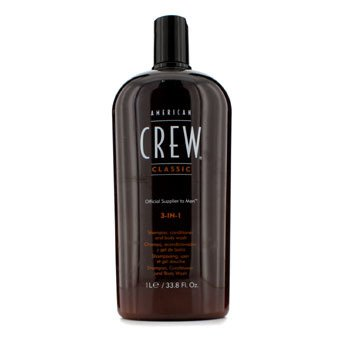 American Crew Men Classic 3-IN-1 Shampoo, Perapi & Body Wash