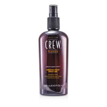 American Crew Men Medium Hold Spray Gel (Kawalan Pengayaan Senang)