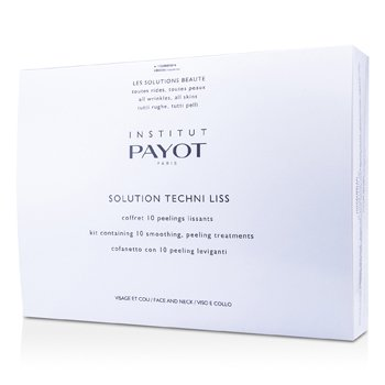 Payot Solution Techni Liss - Smoothing & Peeling Treatments For Face & Neck (Produk Salun)