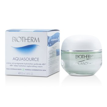 Biotherm Aquasource 48H Deep Hydration Replenishing Cream (Kulit Biasa/Kombinasi)