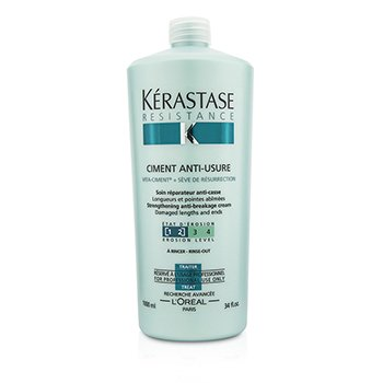 Kerastase Resistance Ciment Anti-Usure Strengthening Anti-Breakage Cream - Rinse Out (For Damaged Lengths & Ends)