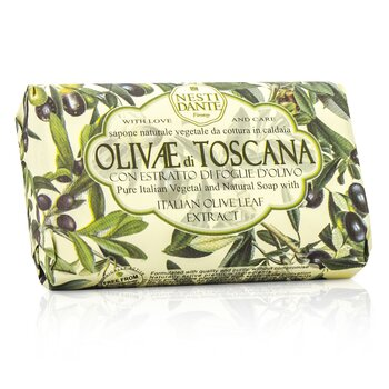 Nesti Dante Natural Soap With Italian Olive Leaf Extract  - Olivae Di Toscana