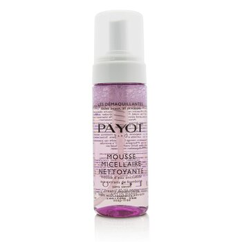 Payot Les Demaquillantes Mousse Micellaire Nettoyante - Creamy Moisturising Foam with Raspberry Extracts