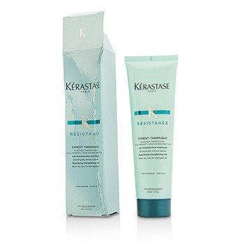 Resistance Ciment Thermique Resurfacing Strengthening Milk Blow-Dry Care - For Damaged Hair (Box Slightly Damaged)