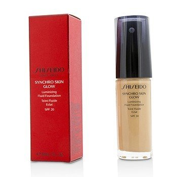 Shiseido Synchro Skin Glow Luminizing Fluid Foundation SPF 20 - # Rose 3