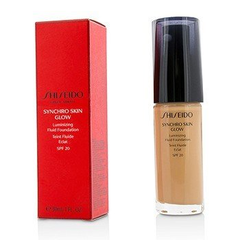Shiseido Synchro Skin Glow Luminizing Fluid Foundation SPF 20 - # Rose 4
