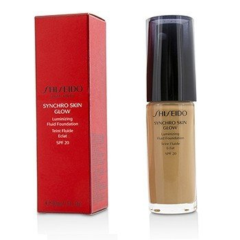 Shiseido Synchro Skin Glow Luminizing Fluid Foundation SPF 20 - # Rose 5