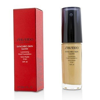 Shiseido Synchro Skin Glow Luminizing Fluid Foundation SPF 20 - # Golden 3