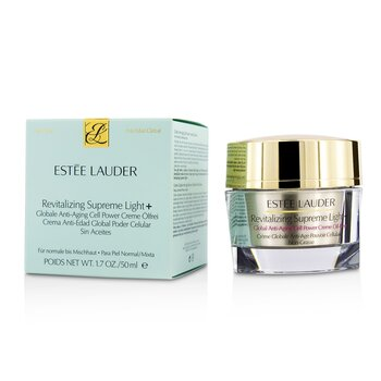 Estee Lauder Revitalizing Supreme light +Global Anti-Aging Cell Power Creme Oil-Free