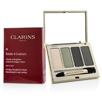Clarins 4 Colour Eyeshadow Palette (Smoothing & Long Lasting) - #06 Forest