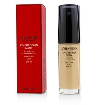 Shiseido Synchro Skin Glow Luminizing Fluid Foundation SPF 20 - # Neutral