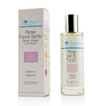 The Organic Pharmacy Rose Facial Spritz - For Normal, Dry & Sensitive Skin