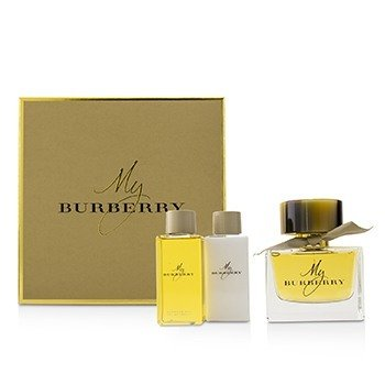 Burberry My Burberry Coffret: Eau De Parfum Spray 90ml + Body Lotion 75ml + Bathing Gel Gel 75ml