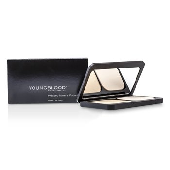 Youngblood Pressed Mineral Mekap Foundation ( Padat ) - Barely Beige