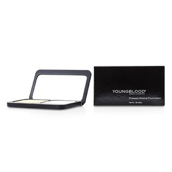 Youngblood Pressed Mineral Mekap Foundation ( Padat ) - Warm Beige