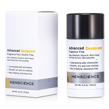 Menscience Deodorant Advanced - Tanpa Wewangian