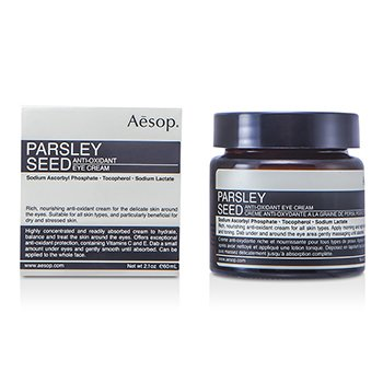 Aesop Parsley Seed Krim Mata Anti-Oksida