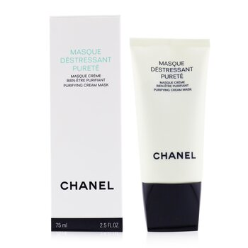 Chanel Precision Masque Destressant Purete Purifying Krim Masker