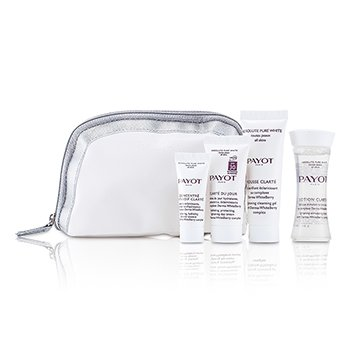 Payot Absolute Tulen Kit Putih: Losion 30ml + 25ml Clarte Mousse + Clarte Du Jour 15ml + memusatkan Anti-soif Clarte 10ml