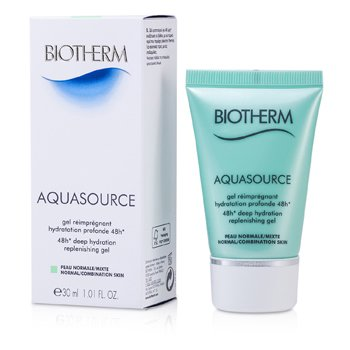 Biotherm Aquasource 48H Deep Hydration Replenishing Gel (Kulit Biasa/Kombinasi)