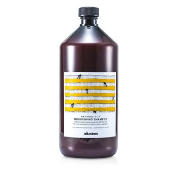 Davines Natural Tech Nourising Shampoo (For Dehydrated Scalp and Dry, Brittle Hair)