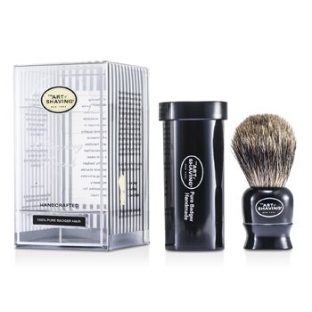 The Art Of Shaving Travel Pure Badger - Black