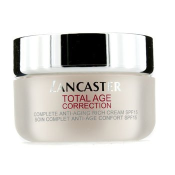 Lancaster Total Age Correction Rich Day Cream SPF15 (Krim Siang Hari Anti-Penuaan SPF15)
