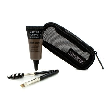 Make Up For Ever Aqua Brow Kit (Kit Kening Aqua) - #25 Ash
