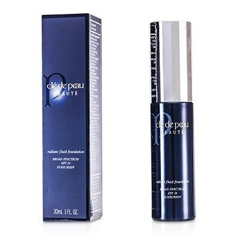 Cle De Peau Radiant Fluid Foundation SPF 24 - # I10 (Very Light Ivory)