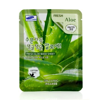 3W Clinic Mask Sheet - Fresh Aloe