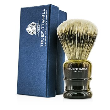 Truefitt & Hill Wellington Super Badger Shave Brush - # Faux Horn