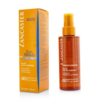 Lancaster Sun Beauty Dry Oil Fast Tan Optimizer SPF 50
