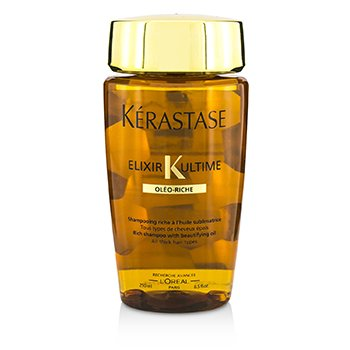 Kerastase Elixir Ultime Oleo-Riche Rich Shampoo (For All Thick Hair Types)