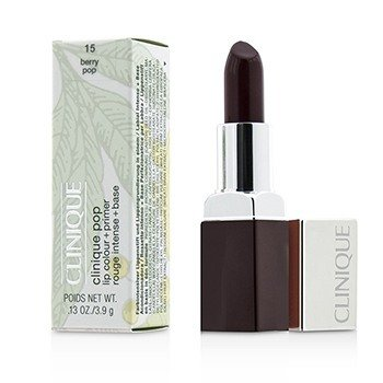 Clinique Clinique Pop Lip Colour + Primer - # 15 Berry Pop