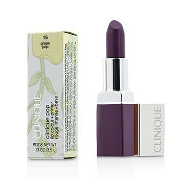 Clinique Clinique Pop Lip Colour + Primer - # 16 Grape Pop