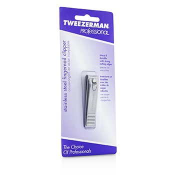 Tweezerman Professional Stainless Steel Fingernail Clipper