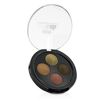 Lavera Illuminating Eyeshadow Quattro - # 03 Indian Dream