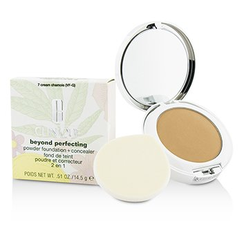 Clinique Beyond Perfecting Powder Foundation + Corrector - # 07 Cream Chamois (VF-G)