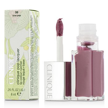 Clinique Pop Lacquer Lip Colour + Primer  - # 06 Love Pop