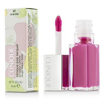 Clinique Pop Lacquer Lip Colour + Primer  - # 07 Go-Go Pop