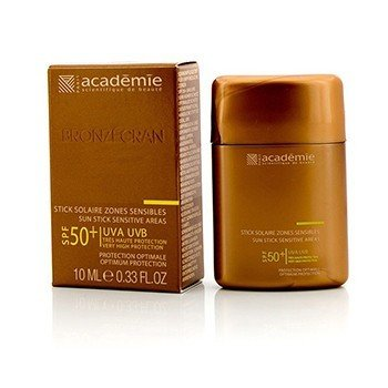 Academie Bronzecran Sun Stick Sensitive Areas SPF 50+ - For Sensitive & Highly Exposed Areas