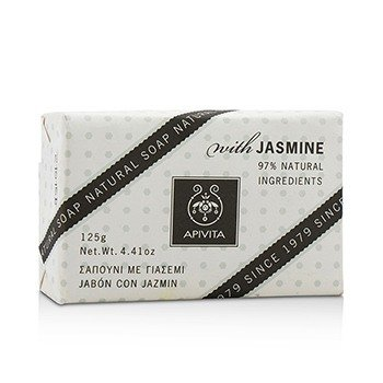 Apivita Natural Soap With Jasmine
