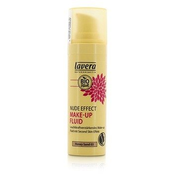 Lavera Nude Effect Make Up Fluid - # 03 Honey Sand