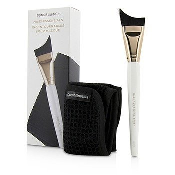 Bare Escentuals Mask Essentials - Smoothing Brush And Removal Cloth