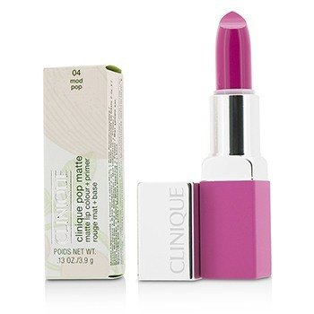 Clinique Pop Matte Lip Colour + Primer - # 04 Mod Pop